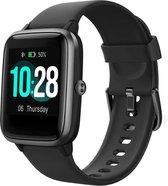 Maoo ID205L Smartwatch - Sporthorloge - Smartwatches Dames & Heren - Zwart