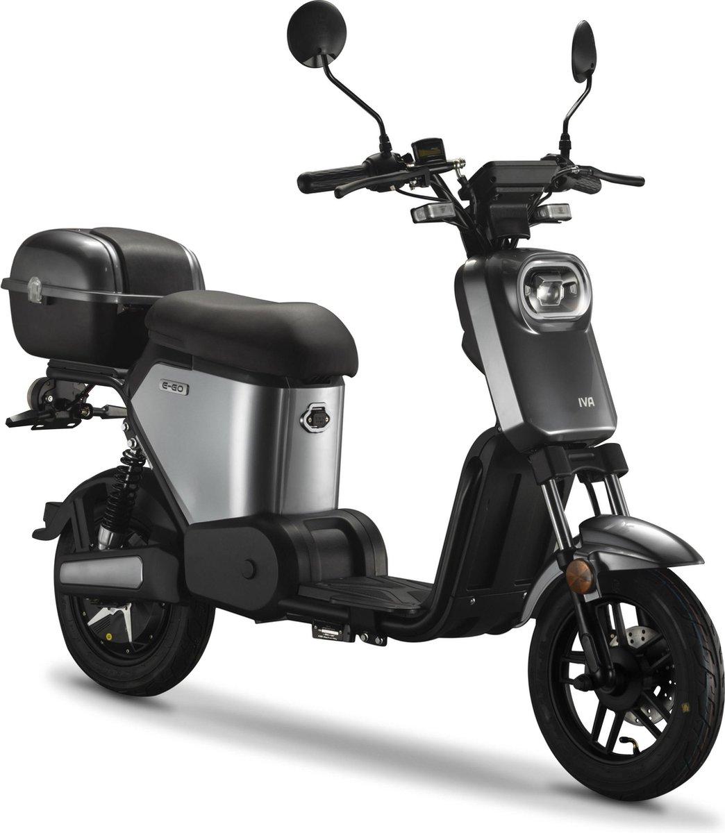 IVA E-GO S2 Elektrische Scooter Zilver