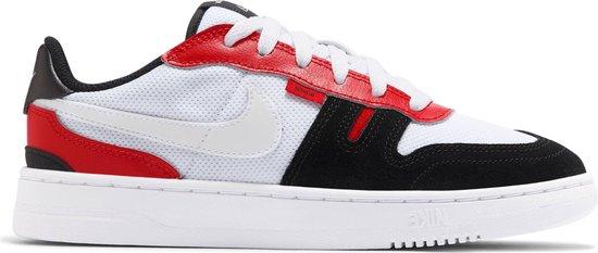 Nike Squash-Type Sneakers - White/Black-University Red - Maat 38.5