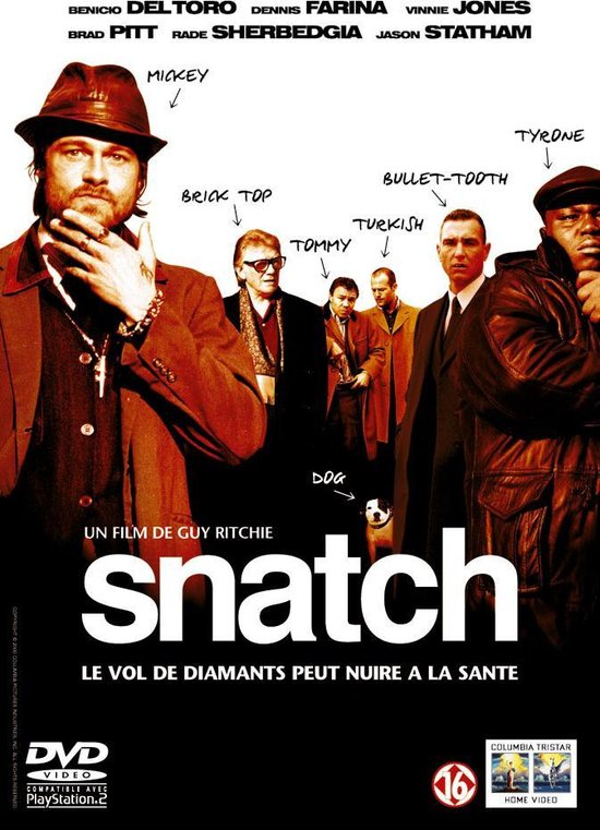 Cover van de film 'Snatch'