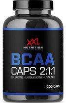 XXL Nutrition BCAA Caps - 1000mg-200 caps