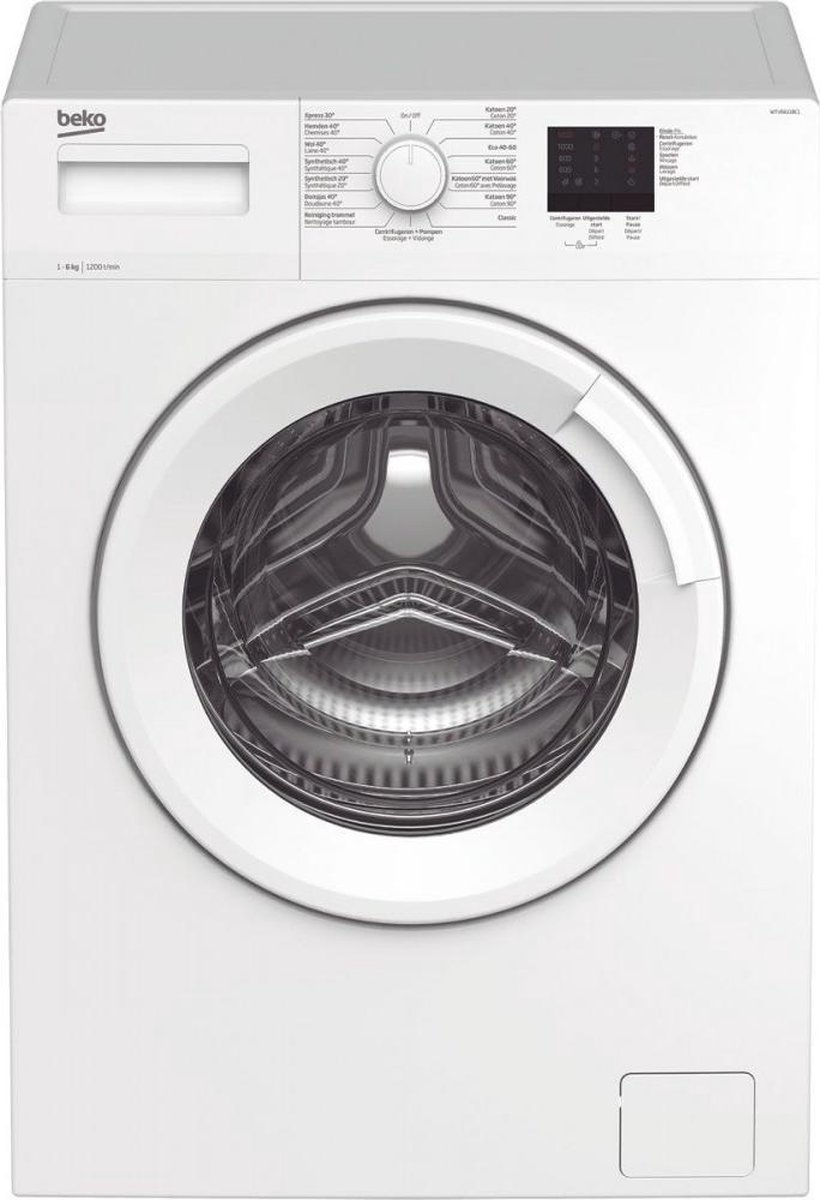 Beko WTV6611BC1 – Wasmachine