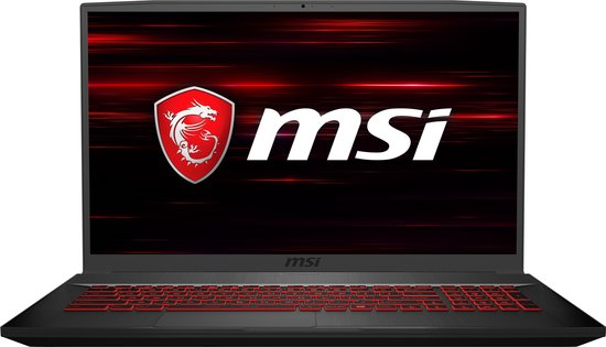 MSI Thin Gaming GF75 10SCXR-206BE - Gaming Laptop - 17.3 inch -...