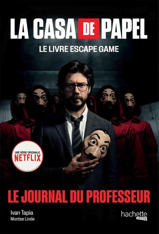 Boek cover La Casa de Papel - Le livre escape game van Ivan Tapia (Onbekend)