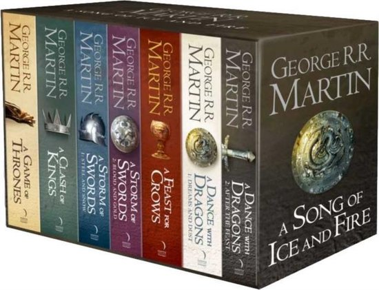 Afbeelding van A Song of Ice and Fire boxset (1-7)