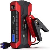 4-in-1 Jumpstarter auto 12V - Starthulp - Startbooster - USB 5V/2.4A Poorten - 16800MaH + Luxe softcase
