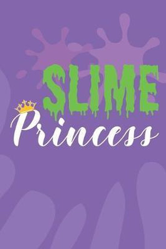 Slime Princess: Wide Ruled Composition Notebook for Girls
