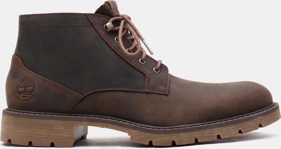 Timberland Elmhurst WP Chukka Heren Sneakers - Dark Brown - Maat 44