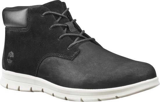 Timberland Graydon Leather Chukka Heren Sneakers - Black - Maat 41