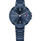 Tommy Hilfiger TH1782207 Horloge  - Staal - Blauw - Ø  34 mm