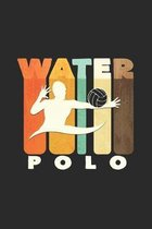 Water polo: 6x9 Water Polo - dotgrid - dot grid paper - notebook - notes