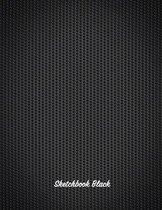 Sketchbook Black: Personalized Sketch Book 8.5x11 Gift for Adults, Kids and More