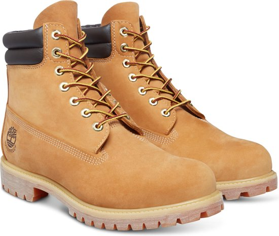 Timberland 6 Inch Boot WP Heren Veterboots - Wheat - Maat 46