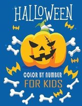 Halloween Color by Number for Kids: Halloween Coloring And Activity Book Connect the dots, Numbers game, Color by number, Coloring page