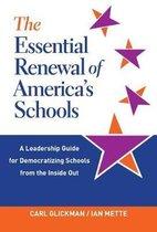 Boek cover The Essential Renewal of Americas Schools van Carl Glickman