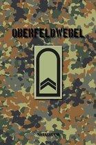 Oberfeldwebel: Vokalbelheft / Heft f�r Vokabeln - 15,24 x 22,86 cm (ca. DIN A5) - 120 Seiten