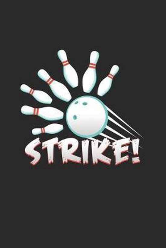 Strike: 6x9 Bowling - dotgrid - dot grid paper - notebook - notes