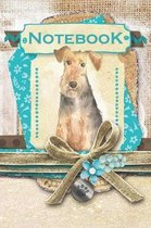 Notebook: Welsh Terrier - 120 pages of writing paper