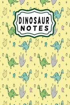 Dinosaur notes: Dinosaur notebook for boys and girls