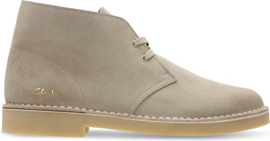 Clarks - Herenschoenen - Desert Boot 2 - G - sand suede - maat 7,5