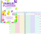 Brepols Familie Agenda planner 2021 • Handig weekoverzicht • cover met pocket voor eigen foto • 16,5 x 21 cm