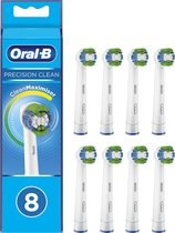 Oral-B Precision Clean Opzetborstel 8 stuks - CleanMaximiser