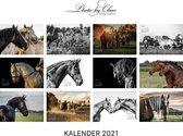 Kalender Paarden 2021 liggend