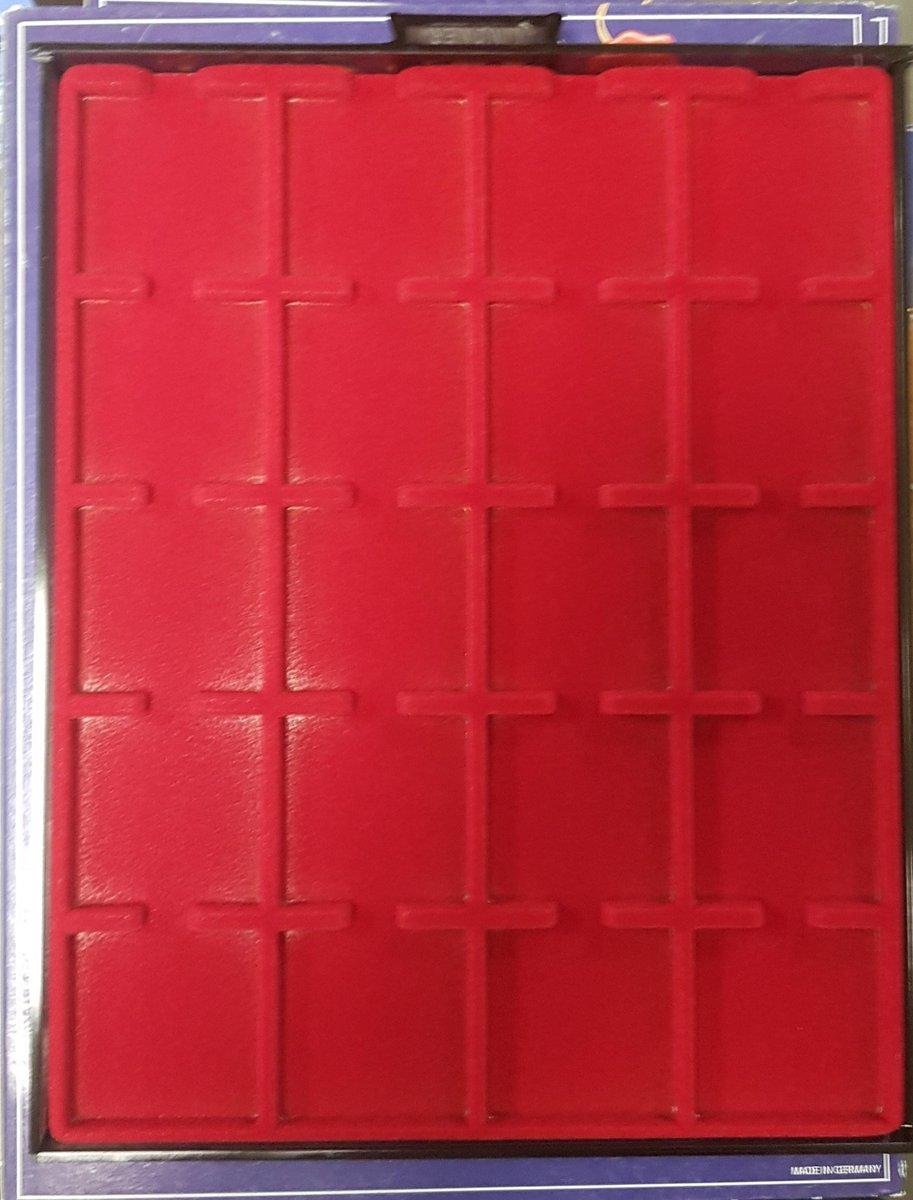 Lindner muntencassette voor 20 Quadrum muntcapsules