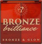 W7 Bronzing Powder Bronze Brilliance Bronze & Glow Medium/Dark
