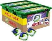 Ariel All in 1 Pods Kleur Wasmiddel 114 stuks  - Kwartaalbox 3 x 38  Wasbeurten - Wasmiddelcapsules