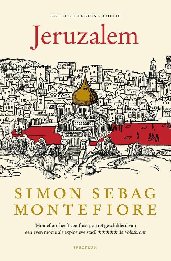 Boek cover Jeruzalem van S.S. Montefiore (Onbekend)