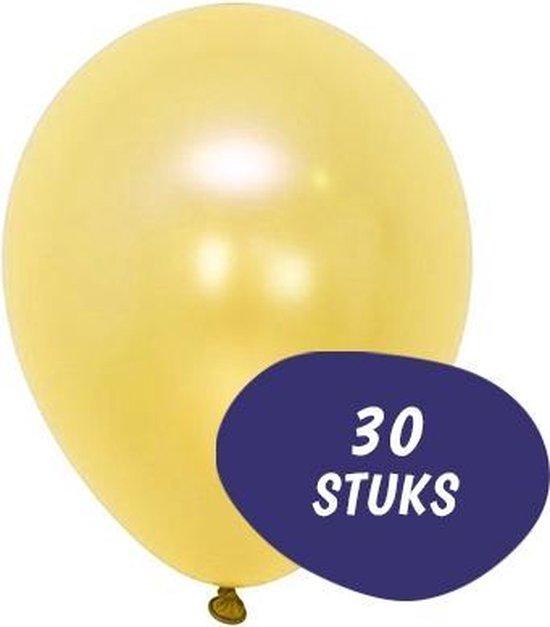 Metallic Ballonnen - 30 Stuks - Goud - Ballonnenset