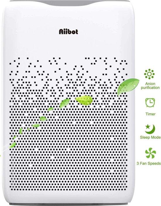 Aiibot EPI188 - Luchtreinigers - Air purifier met 4-fasen filtering -...
