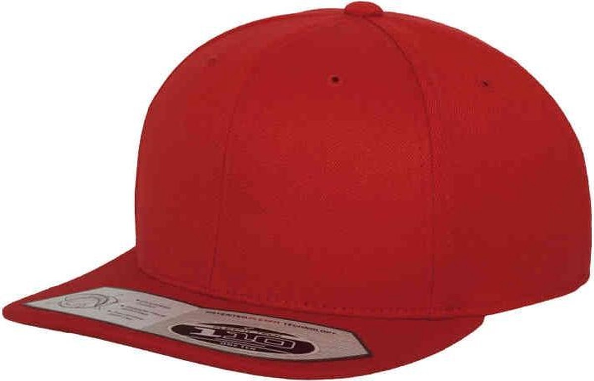 110 Fitted Snapback - Red - Flexfit Yupong