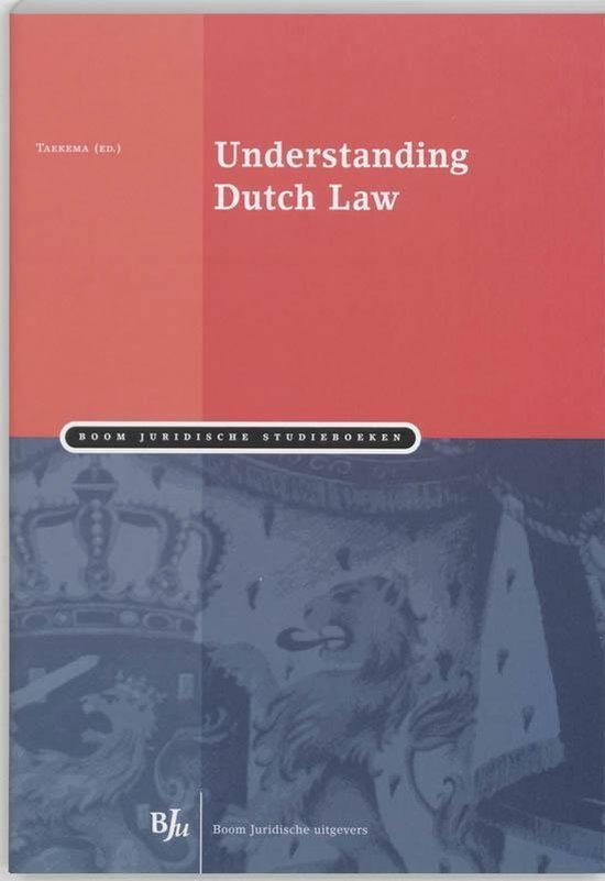Boek cover Understanding Dutch Law van H.S. Taekema (Paperback)