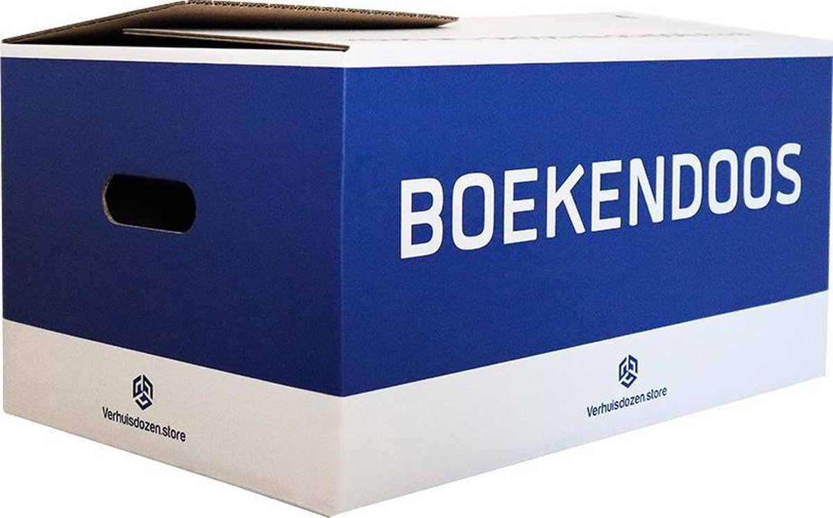 Boekendozen Professioneel - 10 stuks - 35 Liter - Extra stevig - Automatisch opzetbaar - 50 kg laadv