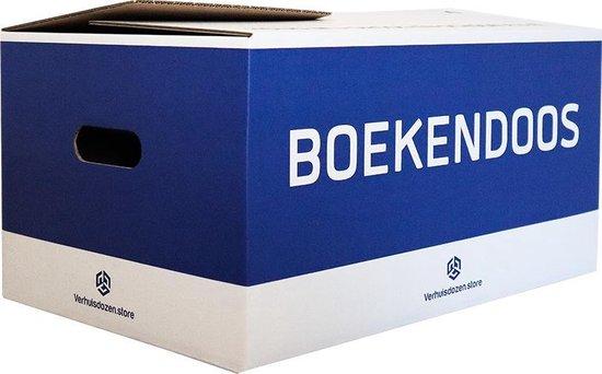 Boekendozen Professioneel - 10 stuks - 35 Liter - Zelfsluitend - Dubbel golf karton - Extra stevig