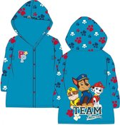Paw Patrol - regenjas - Team players - blauw - maat 110/116