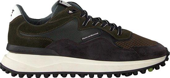 Floris Van Bommel Heren Lage sneakers 16339 - Groen - Maat 42