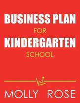 Business Plan For Kindergarten School