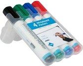 IVOL Whiteboard markers set van 4 verschillende kleuren