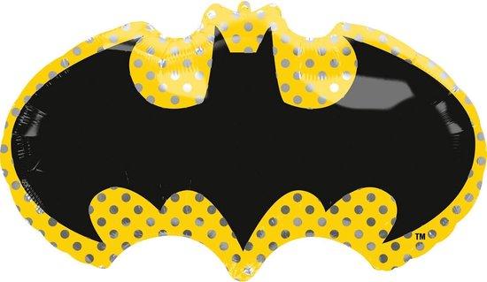 Batman Helium Ballon XL 76cm leeg