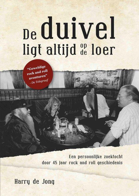 Boek cover De duivel ligt altijd op de loer - Hardcover van Harry de Jong (Hardcover)
