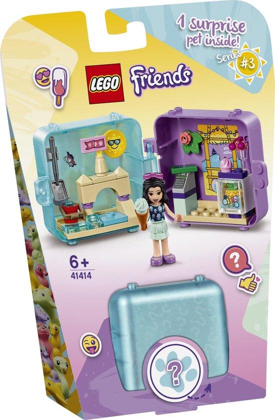 LEGO Friends 41414 Emma's Zomerspeelkubus