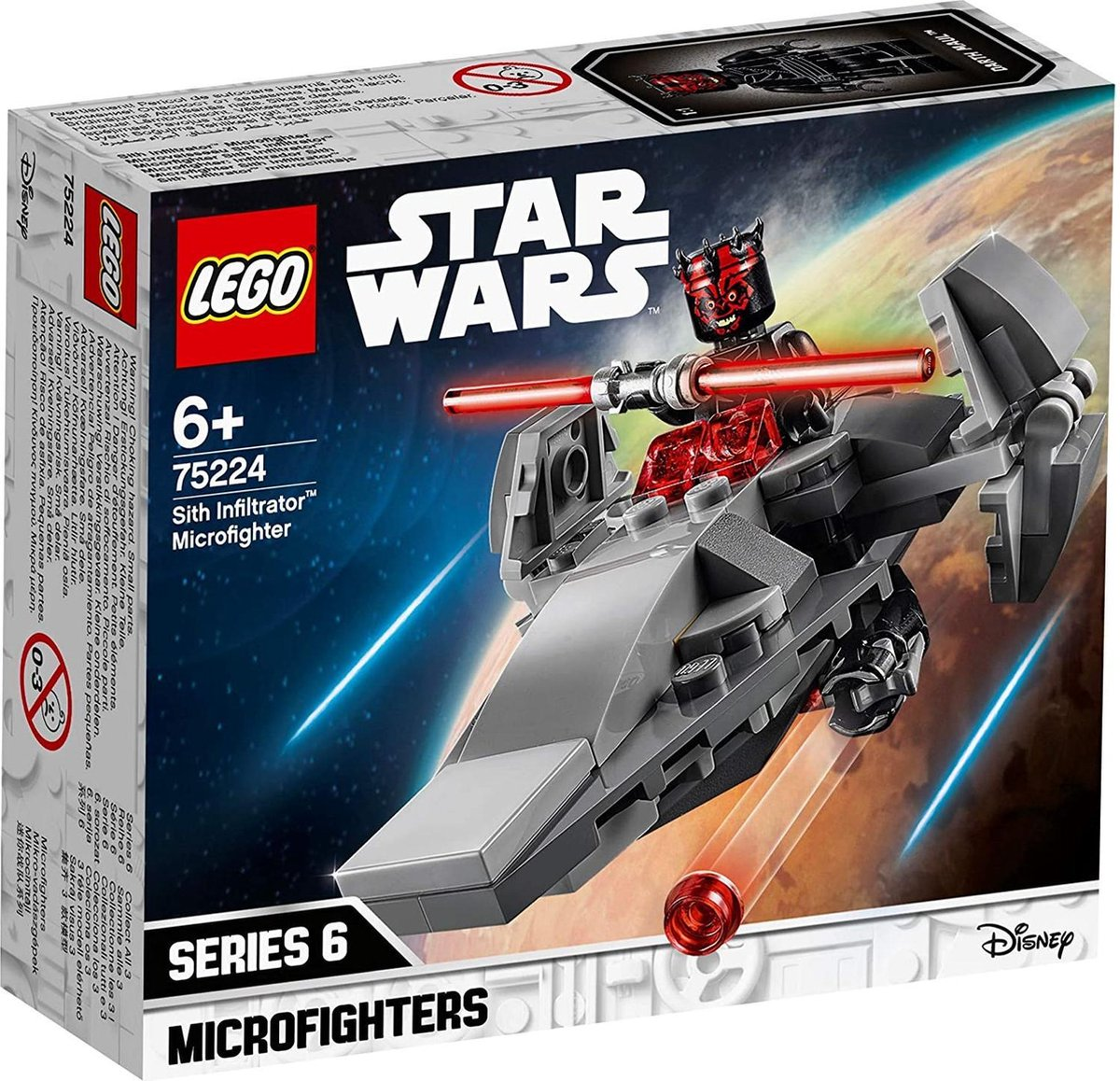 LEGO 6251635 Star Wars Sith Infiltrator Microfighter - 75224