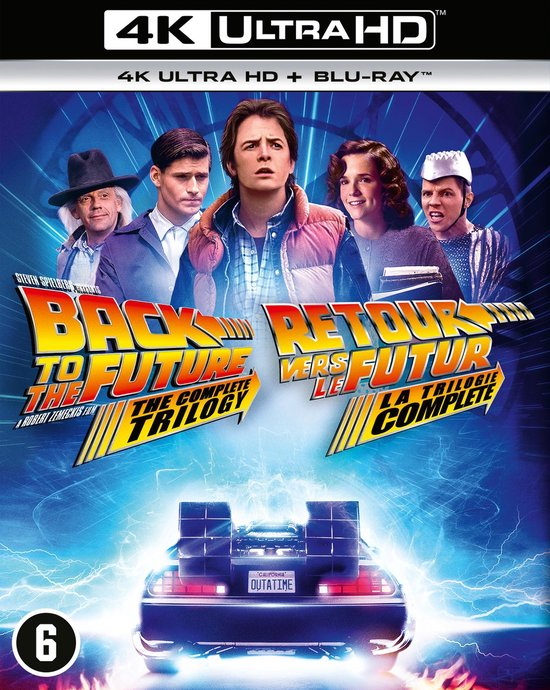 Back to the Future Trilogy (4K Ultra HD Blu-ray)