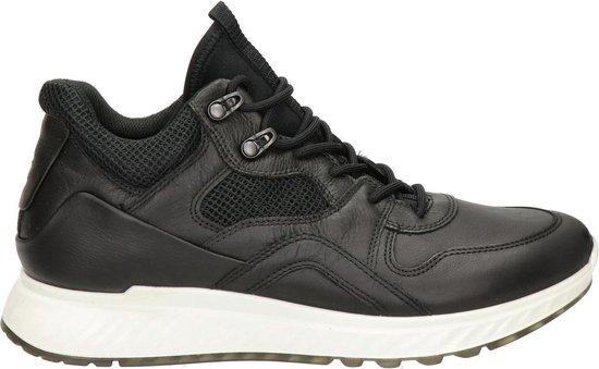 Ecco St.1 heren sneaker - Zwart - Maat 39