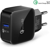 WISEQ Quick Charger - 3A Adapter - USB snellader v