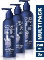 Gloves In A Bottle (GIAB) | Beschermende, hydraterende en herstellende Lotion | Eczeem, Droge Huid, Psoriasis | 3 x 240 ml voordeelverpakking