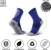 MyStand® Gripsokken Voetbal Sport Grip Sokken Anti Blaren Unisex One Size - Blauw